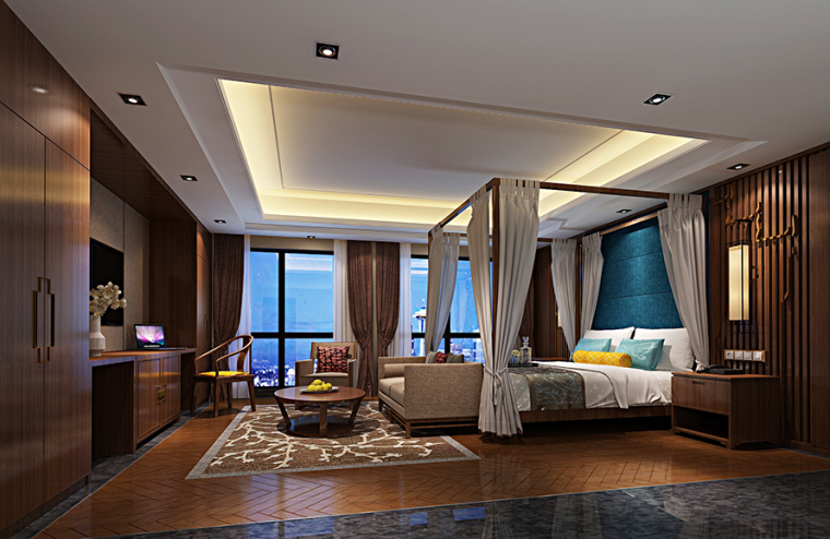 欧式古典的装饰风格资料下载-最全的酒店装饰风格赏析