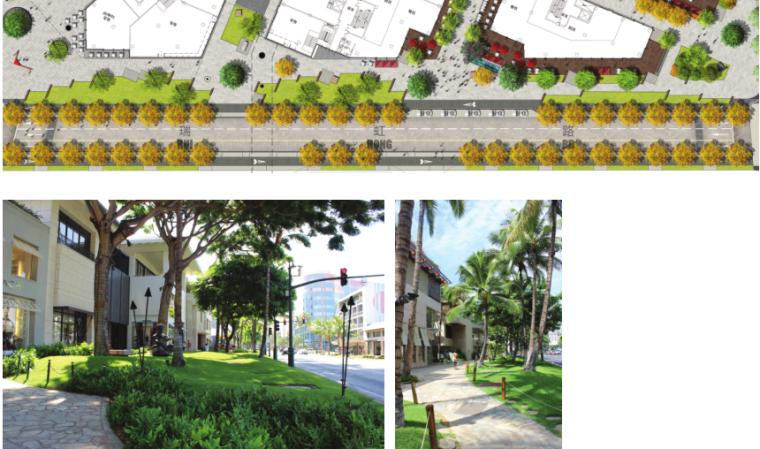 [上海]瑞虹路街道景观方案设计(PDF+16页)-节点平面