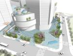 [云南]昆明世界贸易中心景观概念方案设计(现代)