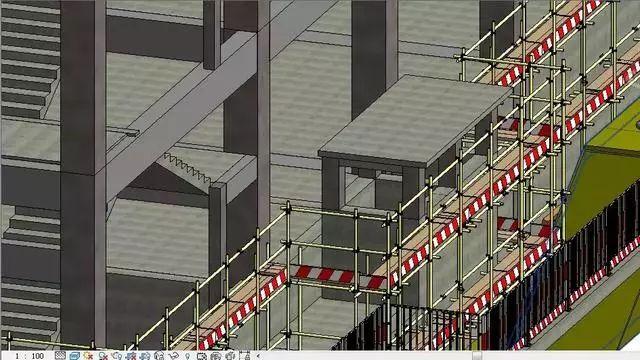 BIM技术在基坑与脚手架施工中的运用与分析_11