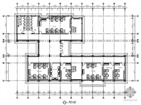 [江苏]某镇政府办公楼装修图