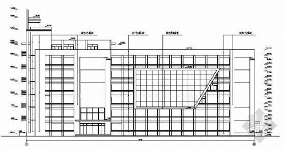 某框架教学楼建筑结构施工图纸