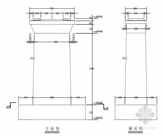 [课程设计]铁路桥墩桩基工程设计(中南大学)