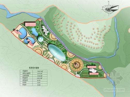 [杭州]温泉度假村景观规划设计