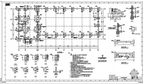 唐山某液化空气项目空分装置结构设计图