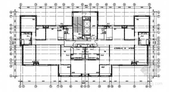 [大连]某超高层住宅全套水施工图