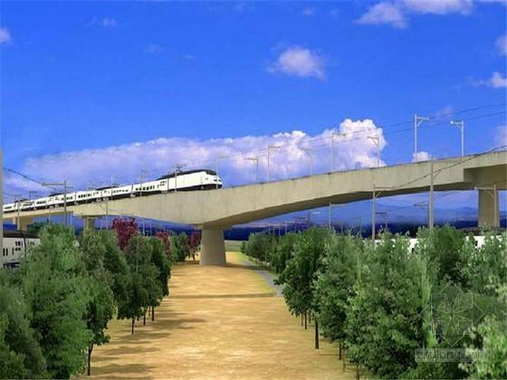 上行特大桥跨铁路T构施工方案