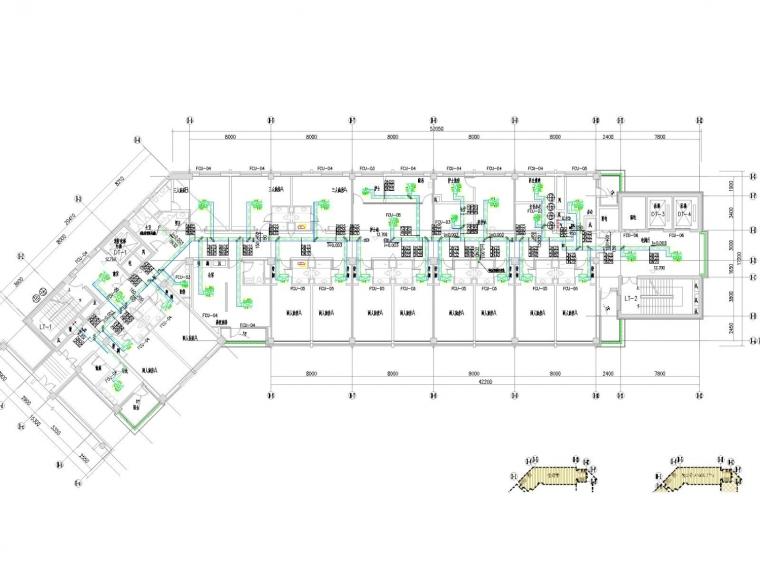 [辽宁]高层医疗住院楼空调通风防排烟系统(采暖设计、大院设计)