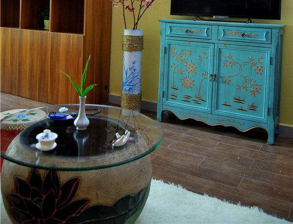 中式古典风格家居装修效果图_2