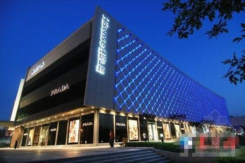 [青岛]6万平国际购物中心结构施工图(含建筑图)