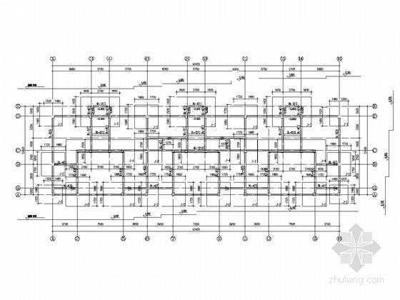 [辽宁]地上六层框架结构宿舍楼结构施工图