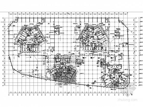 [云南]地下车库二层框架结构施工图
