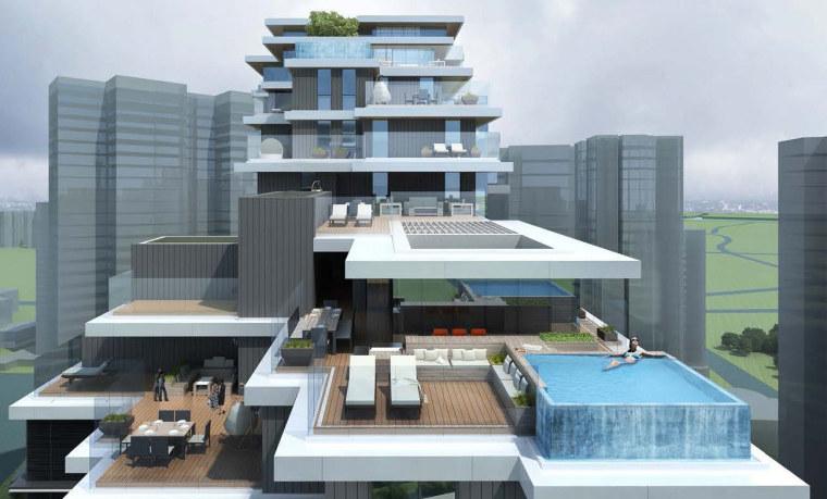 上海中信泰富集团大楼居民区的改造-1 (16)