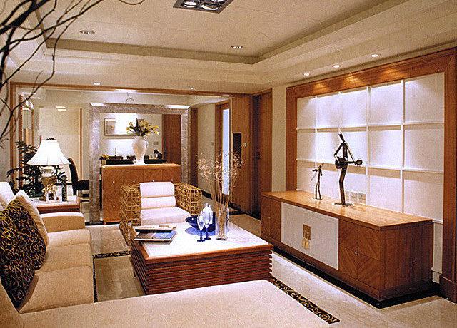 92平方米新古典二房二厅客厅装修效果图_2