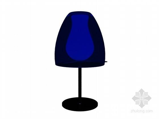 简单台灯3D模型下载