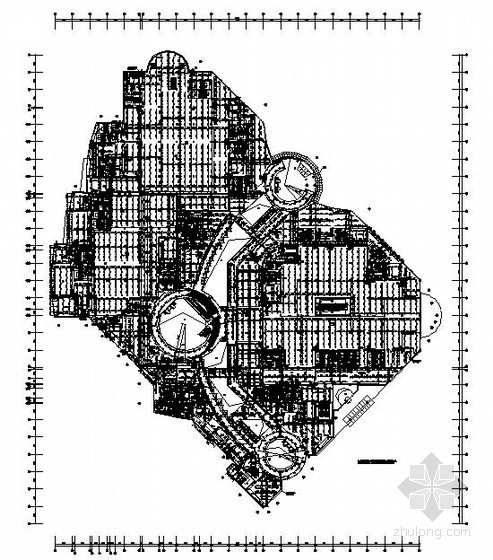 [山东]休闲购物广场给排水施工设计图纸132张