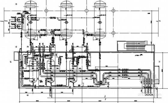 大型燃气导热油炉安装施工图