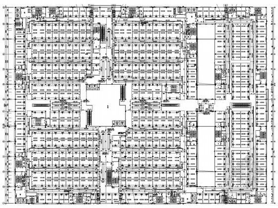 [浙江]工厂生产厂房暖通空调通风排烟竣工图(甲级院设计)