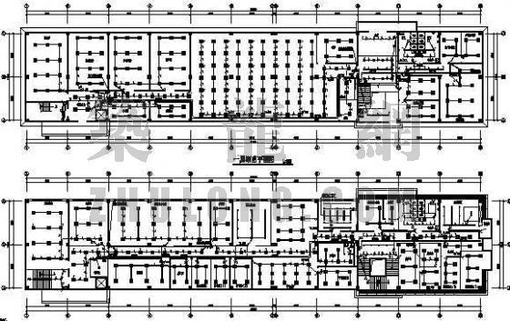 某四层办公楼强、弱电设计
