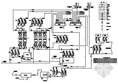 水源热泵机房原理图