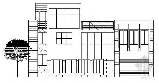某三层小康农居住宅区近远期规划设计方案图(获奖作品)