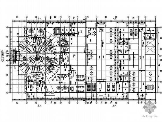 大型汽车展厅装饰施工图