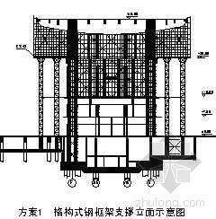 高空大悬挑结构支撑体系的施工应用(QC)