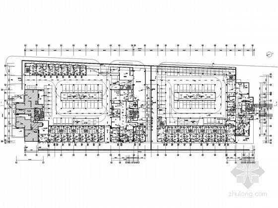 [江苏]大型知名广场全套电气施工图纸(29层,地下4层,含完整计算书)