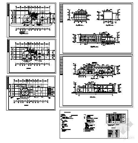 某二层售楼处建筑方案图-4