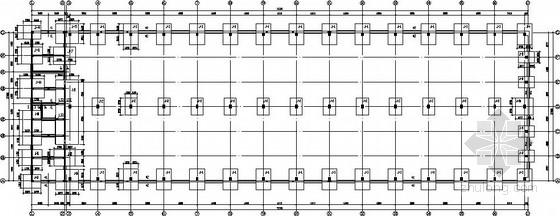 混凝土柱钢屋架厂房结构施工图
