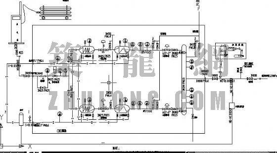 住宅小区煤气接收站工艺图