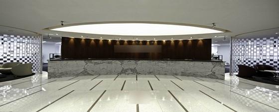 [广东]某知名外企公司现代风办公室设计方案图