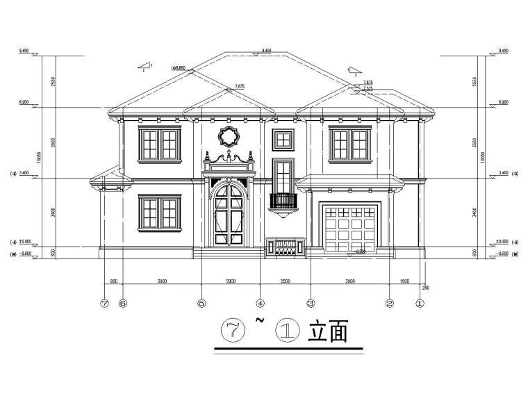 351平两层长岛私人别墅结构施工图