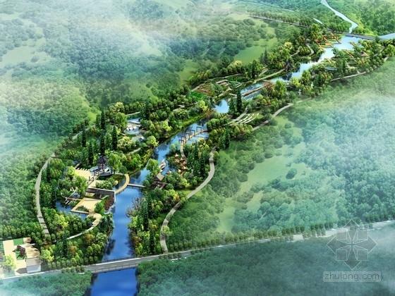 [浙江]山清水秀生态滨水公园设计方案