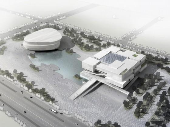 [云南]某博物馆新馆规划设计方案文本(含CAD、动画)