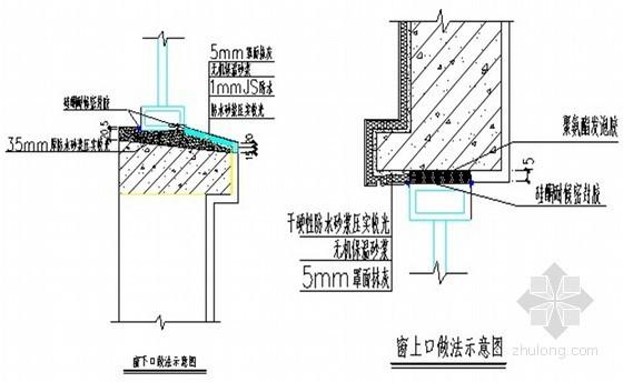 [江苏]高层经济适用房工程塑钢门窗安装施工方案