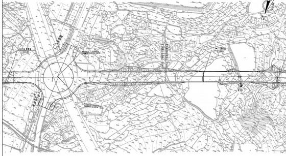 [湖南]双向4车道一级公路工程施工图设计466页(路桥涵通道交安)