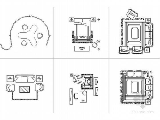 常用全套家装CAD图块下载