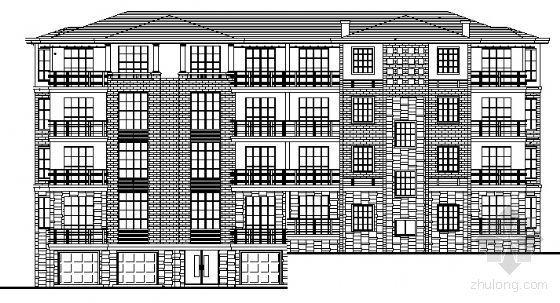 某四层小型公寓建筑扩初图