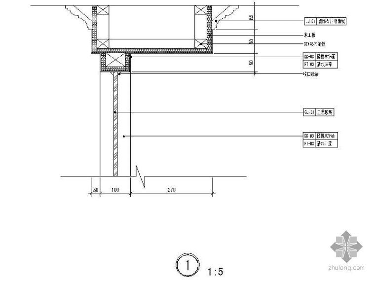 [上海]某二层别墅设计施工图_3