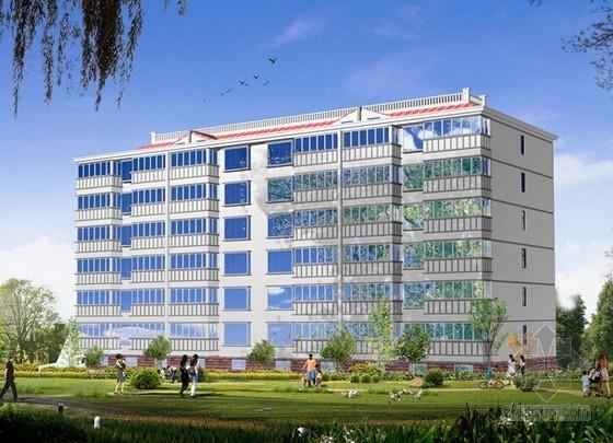 [安徽]3栋商住楼及地下室建筑安装工程预算书(含全套施工图纸)