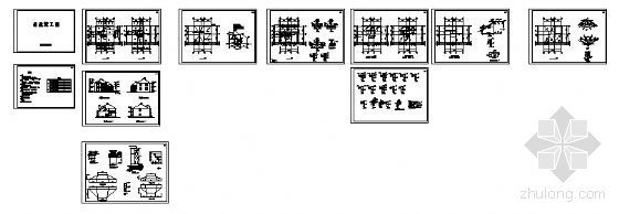 某二层别墅建筑方案图-4