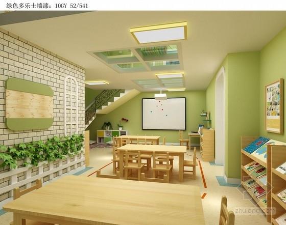 虐死设计师的现代清新幼儿园装修设计图