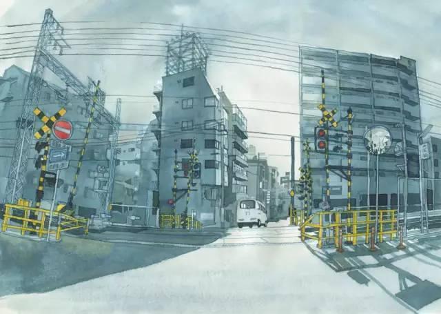 建筑手绘,国外设计师画的就是好看!_12