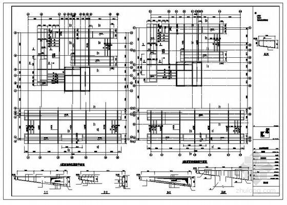 某屋面构架节点构造详图