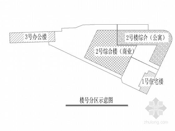 10万平商业写字楼+商住楼+地下商业及机械停车库施工图
