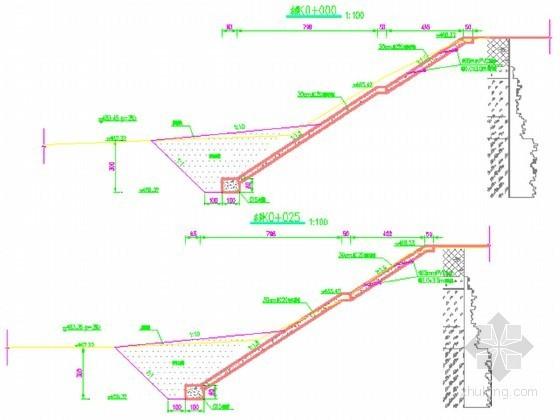 [四川]河道治理工程初步设计(概算书 CAD图)