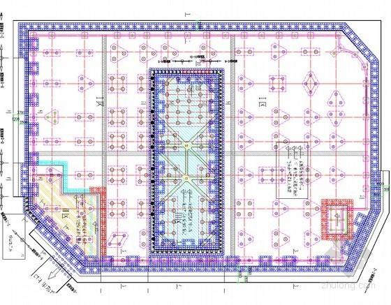 10米深基坑重力挡墙结合复合土钉墙支护计算模型(理正深基坑)