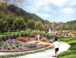 [浙江]滨江山谷生态养生药用植物园景观规划设计方案
