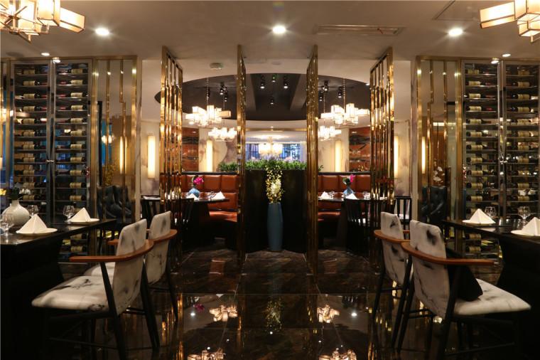 [特色餐厅设计]大连粤食粤点餐厅项目设计实景照片震撼来袭-7.JPG